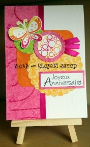 Carte anniversaire -
