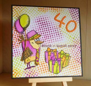 Carte - 40 ans