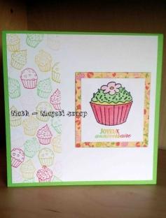 Carte cupcake -1