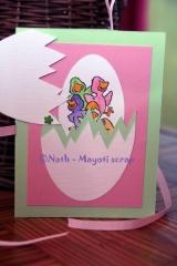 Carte - Oeuf de Pâques