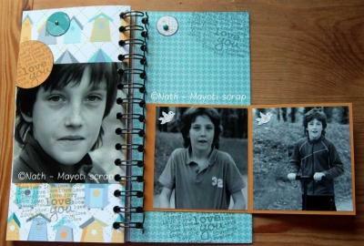 Page intérieure 15 et intérieur de la page 16