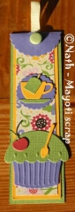 Marque page assorti à la Boîte cadeau - Offrir du thé