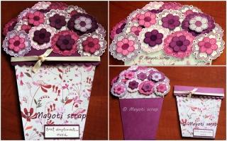 Carte Merci - Pot de fleurs