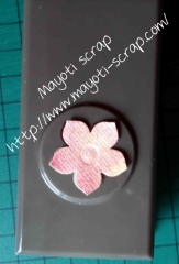Fleur avec perfo Petite petales - 2