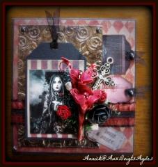 Carte gothique - Annick